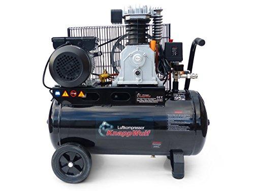 KnappWulf Kompressor Luftkompressor KW3150 mit 50L Druckbehälter 240L/min 230V 10bar - 3