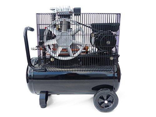 KnappWulf Kompressor Luftkompressor KW3150 mit 50L Druckbehälter 240L/min 230V 10bar - 5