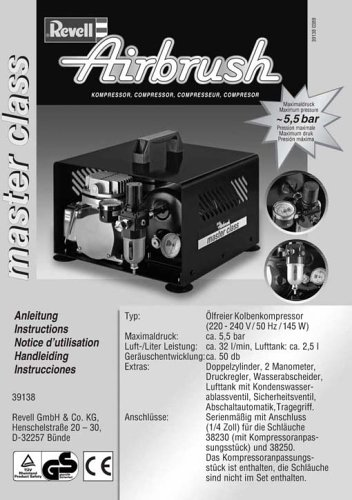 Revell Airbrush 39138 - Kompressor master class - 7