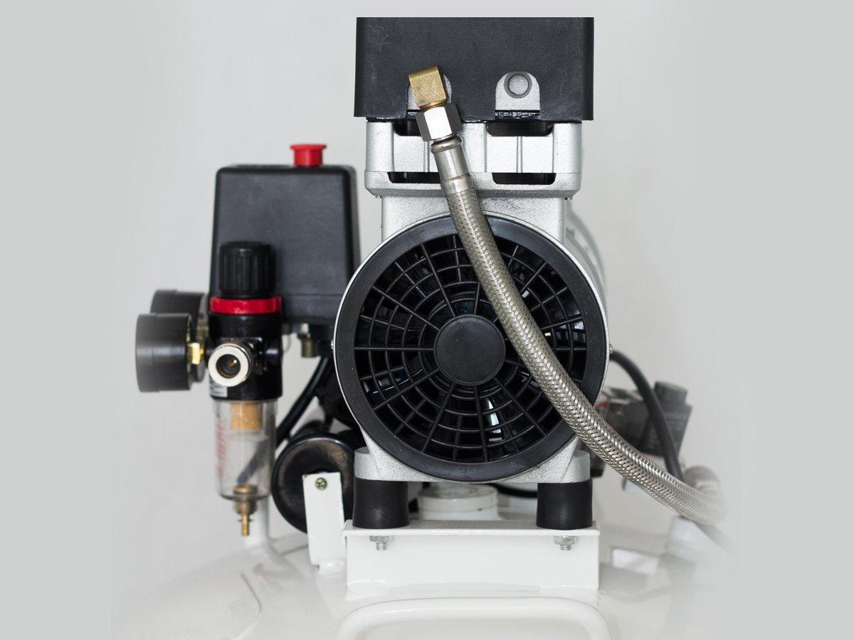 Starkwerk Silent Flüster Druckluft Kompressor SW 355/8 - 1