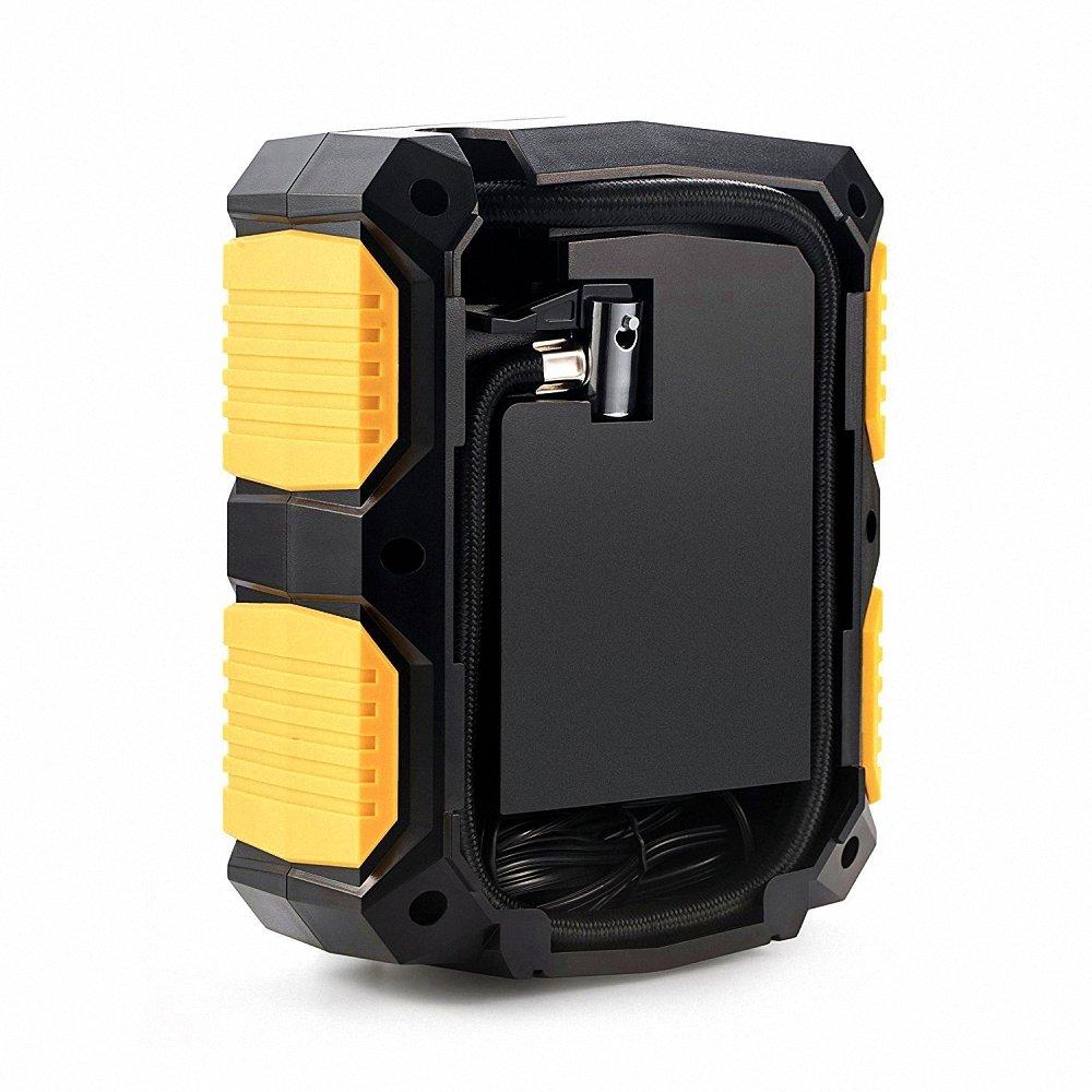 QZT Reifenpumpe LED Licht