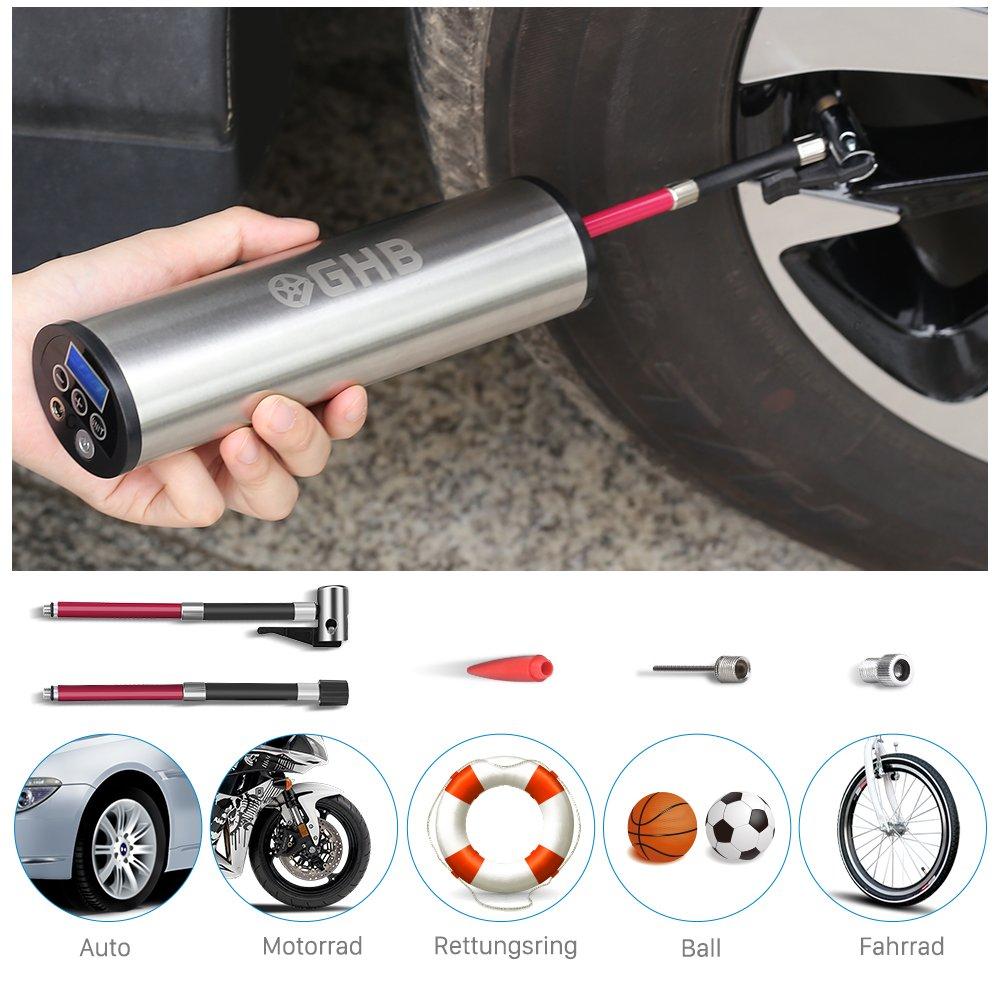 GHB Mini Auto-Luftpumpe