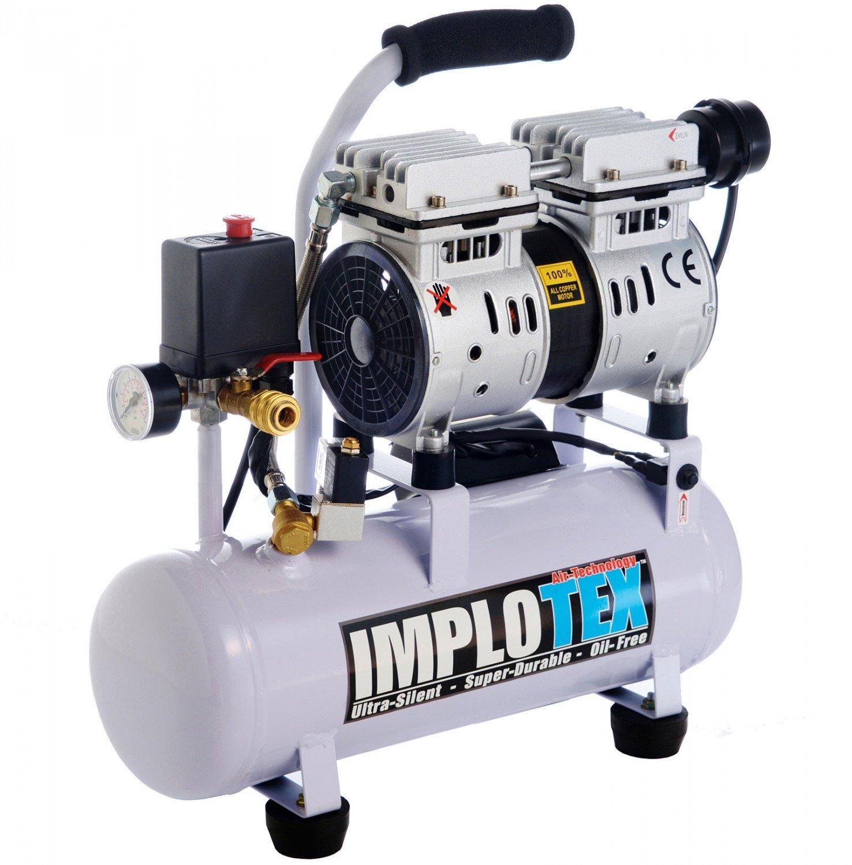 IMPLOTEX Silent 480W Flüsterkompressor - 48dB