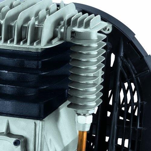 Einhell Kompressor TE-AC 480/100/10 D (3,0 kW, 100 L, Ansaugleistung 480 l / min, 10 bar, ölgeschmiert, Riemenantrieb, große Räder und Haltebügel) - 7