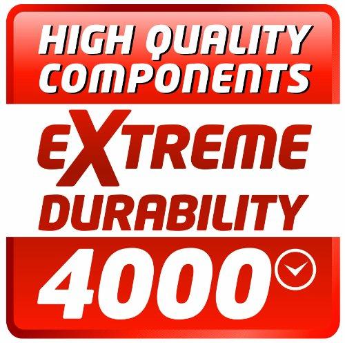 Einhell Kompressor TE-AC 480/100/10 D (3,0 kW, 100 L, Ansaugleistung 480 l / min, 10 bar, ölgeschmiert, Riemenantrieb, große Räder und Haltebügel) - 10
