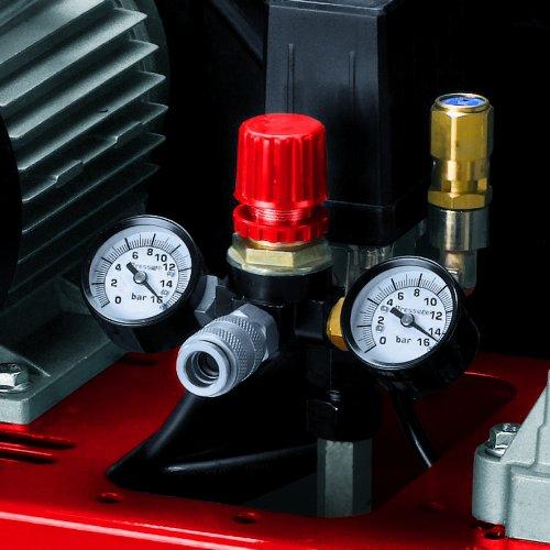 Einhell Kompressor TE-AC 300/50/10 , 2,0 kW, 50 Liter, Ansaugleistung 300 l/min., 10 bar, 2 Zylinder - 4