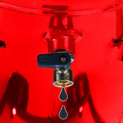 Einhell Kompressor TE-AC 300/50/10 , 2,0 kW, 50 Liter, Ansaugleistung 300 l/min., 10 bar, 2 Zylinder - 6