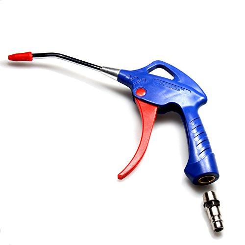 IMPLOTEX Druckluft Ausblaspistole mit Schnellkupplungsadapter