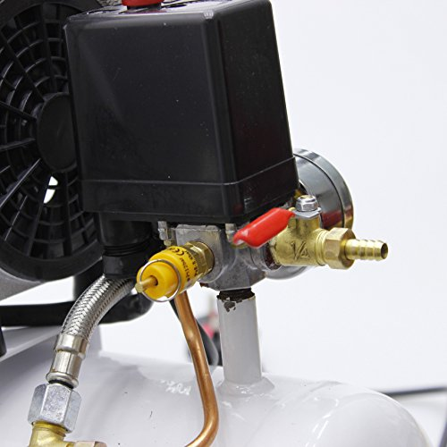 241183 Leise Typ Luft Kompressor 65DB 600W 9L Für Mobile Garage Zahnärztliche Klinik - 3