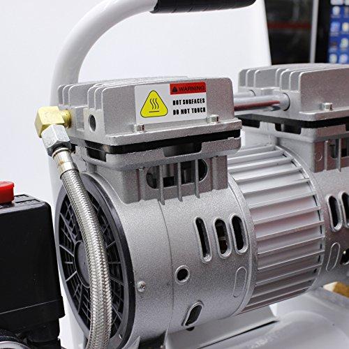 241183 Leise Typ Luft Kompressor 65DB 600W 9L Für Mobile Garage Zahnärztliche Klinik - 6