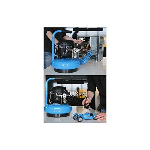 Druckluft-Kompressor Silent 0,3 PS / 6 l / 8 bar Typ L 6-45 - 7