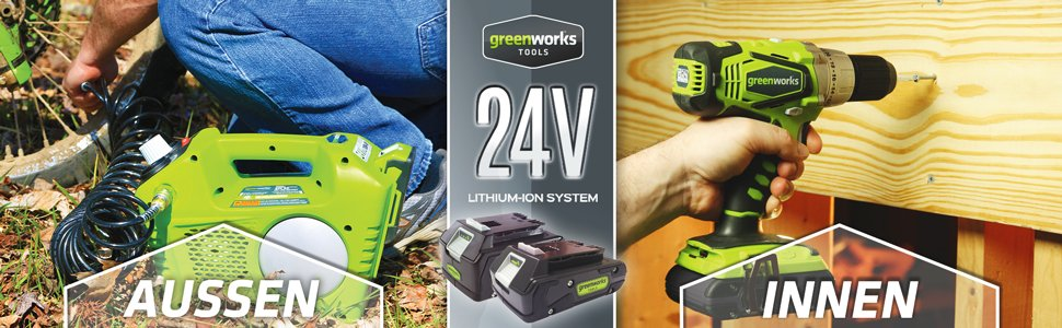 Greenworks 4100302 24V Kompressor